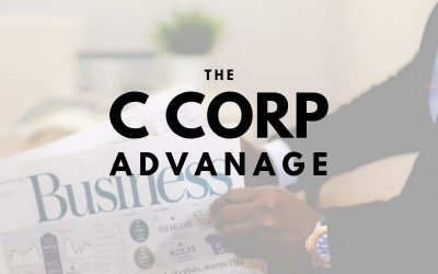 The Advantage a C Corporation Holds for Frederick Businesses